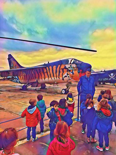 Μια εξόρμηση στο Μουσείο Πολεμικής αεροπορίας !!