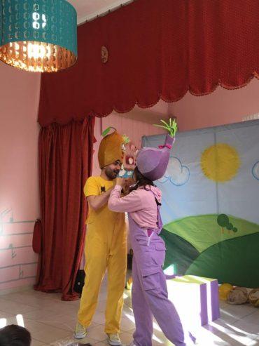 Ο πρίγκιπας Λεμόνης και η όμορφη Κερμύδω ήρθαν στο σχολείο μας να μας μάθουν την ισότητα και την αξία της αγάπης!!!!