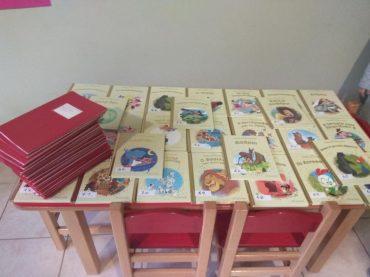 Φυσικά δεν θα μπορούσε να λείπει από τις σχολικές μας δραστηριότητες η δανειστική βιβλιοθήκη!!! Και αυτά είναι μόνο η αρχή!!! Γιατί ο καλύτερος φίλος του παιδιού είναι το βιβλίο!!!